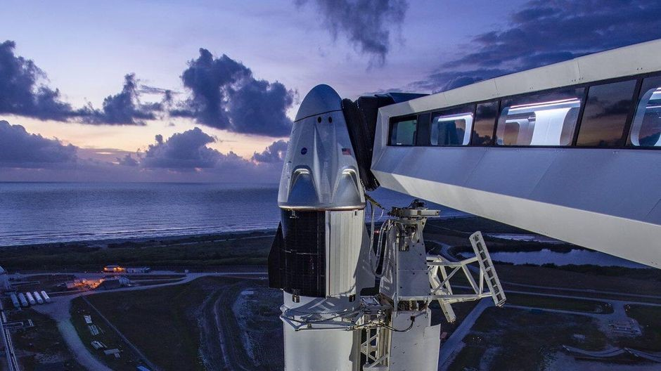 SpaceX, NASA scrub historic Demo-2 launch due to weather - CNET