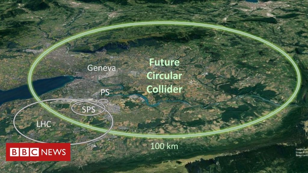 Cern plans even larger hadron collider for physics search - BBC News