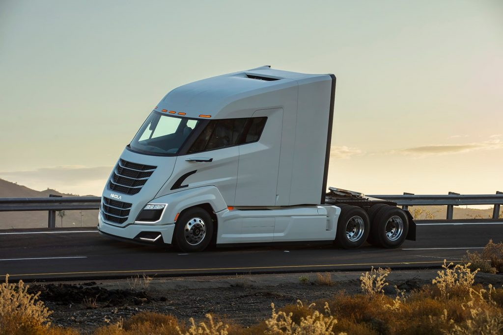 Electric-truck startup Nikola drafts Tesla, except when it doesn't