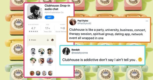 Image result for clubhouse