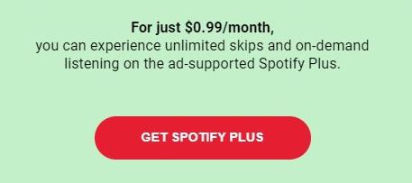 Spotify predplatné